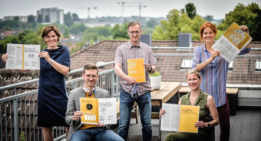 Klimaentscheidessen Team Foto WAZ