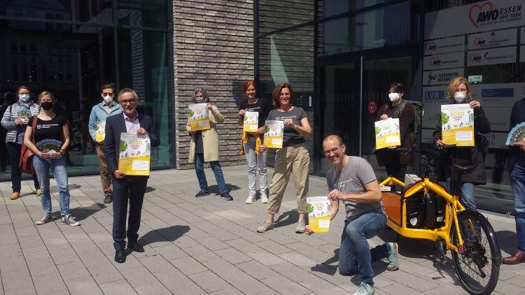 <strong>Klimaziel für Essen: Bürger*inneninitiative kritisiert Informationspolitik der Stadt und startet Kampagne</strong>